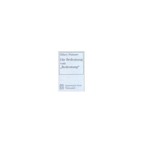 - Die Bedeutung vonBedeutung - Preis vom 11.06.2021 04:46:58 h