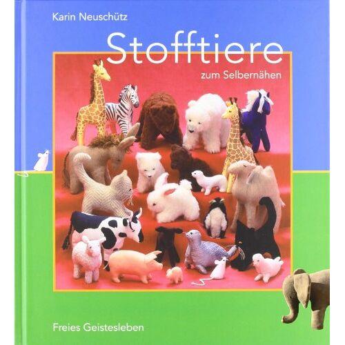 Karin Neuschütz - Stofftiere zum Selbernähen - Preis vom 19.09.2021 04:53:15 h
