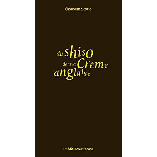 - Du shiso dans la crème anglaise - Preis vom 17.06.2021 04:48:08 h