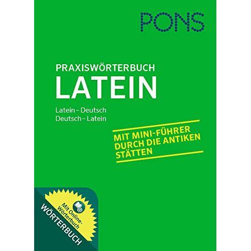 - PONS Praxiswörterbuch Latein: Latein-Deutsch / Deutsch-Latein. Mit Online-Wörterbuch. - Preis vom 21.06.2021 04:48:19 h