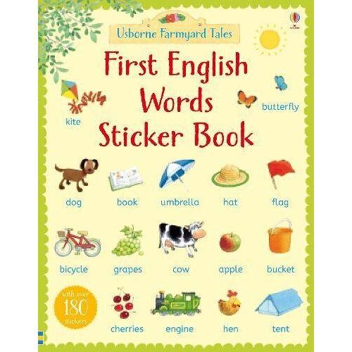 Heather Amery - Farmyard Tales First English Words Sticker Book (Farmyard Tales First Words Sticker) - Preis vom 17.06.2021 04:48:08 h