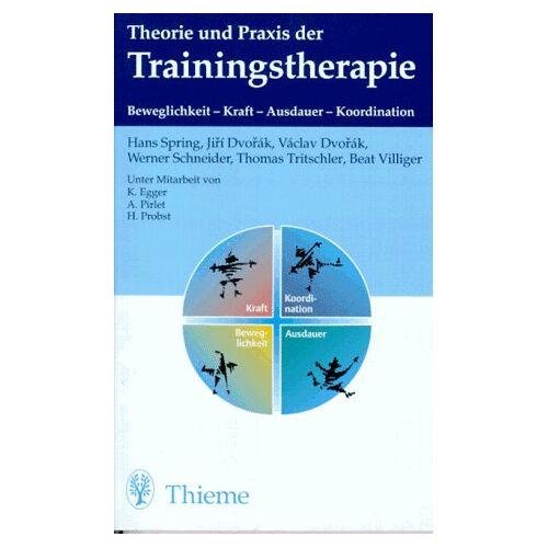 Hans Spring - Theorie und Praxis der Trainingstherapie - Preis vom 22.09.2021 05:02:28 h