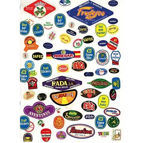 Eugen Oker - Obstaufkleber - Fruit Stickers: Eugen Oker - Preis vom 17.06.2021 04:48:08 h