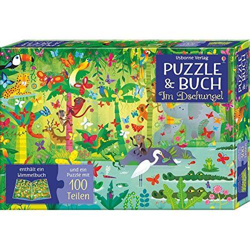 Sam Taplin - Erstes Puzzle Und Buch. Im Dschungel - Preis vom 17.10.2021 04:57:31 h