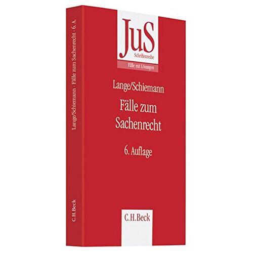 Hermann Lange - Fälle zum Sachenrecht - Preis vom 27.10.2021 04:52:21 h