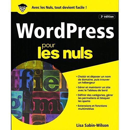 - WordPress pour les nuls - Preis vom 13.06.2021 04:45:58 h