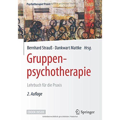 Bernhard Strauß - Gruppenpsychotherapie: Lehrbuch für die Praxis (Psychotherapie: Praxis) - Preis vom 19.06.2021 04:48:54 h