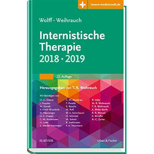 Hans-Peter Wolff - Internistische Therapie: 2018/2019 - Mit Zugang zur Medizinwelt - Preis vom 13.10.2021 04:51:42 h