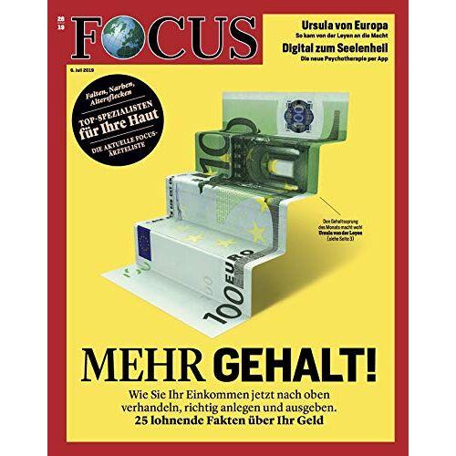 Focus - FOCUS 28/2019 Mehr Gehalt! - Preis vom 12.06.2021 04:48:00 h