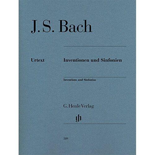 Bach, Johann Sebastian - Inventionen und Sinfonien für Klavier BWV 772-801, Ausgabe mit Fingersatz - Preis vom 19.06.2021 04:48:54 h