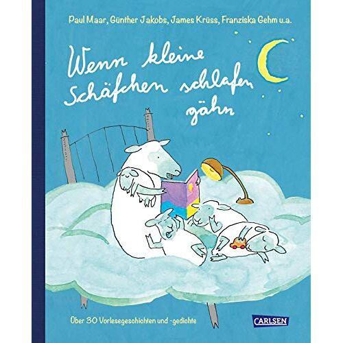 Paul Maar - Wenn kleine Schäfchen schlafen gähn: 44 Vorlesegeschichten und -gedichte über Schafe und Schäfchen - Preis vom 14.06.2021 04:47:09 h