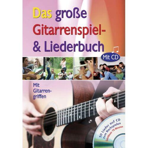 - Das große Gitarrenspiel- und Liederbuch mit CD: Mit Gitarrengriffen - Preis vom 22.06.2021 04:48:15 h
