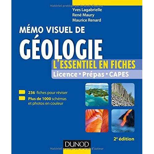 - Mémo visuel de géologie - Preis vom 30.07.2021 04:46:10 h