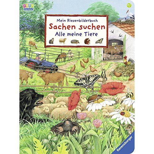 - Mein Riesenbilderbuch Sachen suchen - Alle meine Tiere - Preis vom 12.06.2021 04:48:00 h