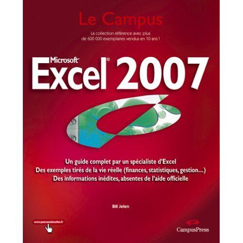 Bill Jelen - Excel 2007 - Preis vom 17.06.2021 04:48:08 h