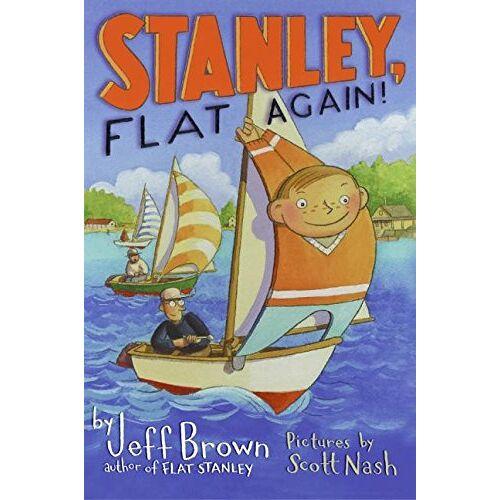 Jeff Brown - Stanley, Flat Again! (Flat Stanley) - Preis vom 23.07.2021 04:48:01 h