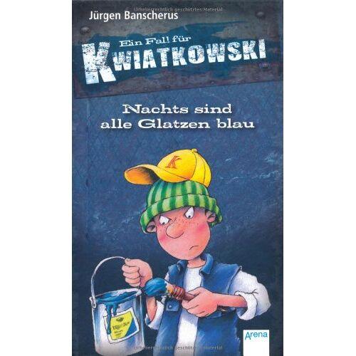 Jürgen Banscherus - Nachts sind alle Glatzen blau: Ein Fall für Kwiatkowski - Preis vom 17.05.2021 04:44:08 h