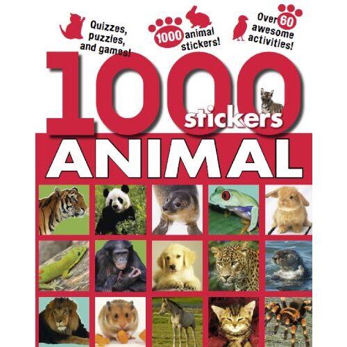 Parragon - 1000 Animal Stickers (1000 Stickers) - Preis vom 13.06.2021 04:45:58 h