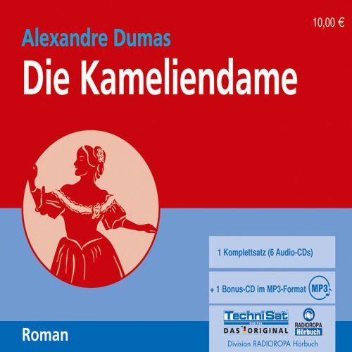 Alexandre Dumas - Die Kameliendame. 6 CDs + mp3-CD - Preis vom 22.06.2021 04:48:15 h