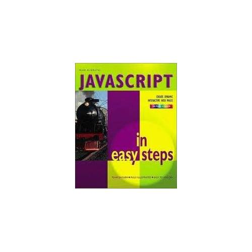- Javascript in Easy Steps - Preis vom 22.06.2021 04:48:15 h