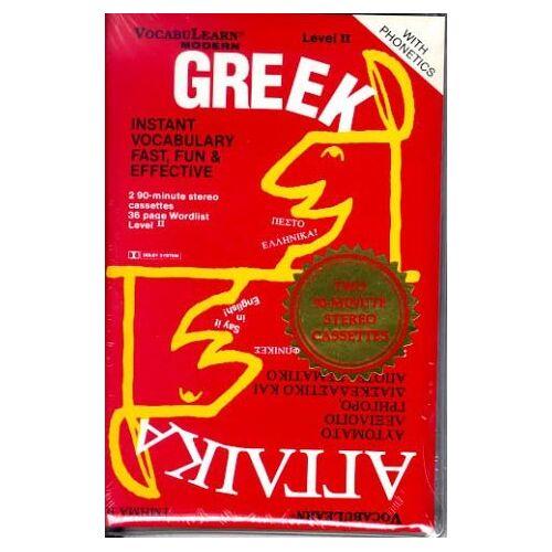 Vocabulearn - Vocabulearn Modern Greek/Attaika Level II: Instant, Vocabulary, Fast, Fun & Effective: Instant Vocabulary Fast, Fun and Effective - Preis vom 11.06.2021 04:46:58 h