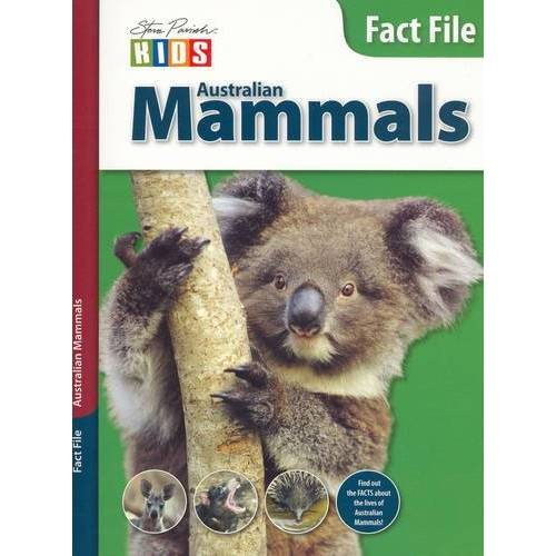 Steve Parish - Australian Mammals (Fact File S.) - Preis vom 16.06.2021 04:47:02 h