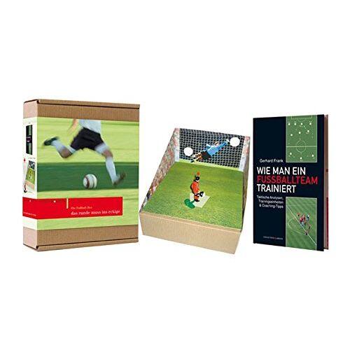 Gerhard Frank - Geschenkbox mit Buch: DIE FUSSBALLBOX: Wie man ein Fussballteam trainiert - Preis vom 13.09.2021 05:00:26 h