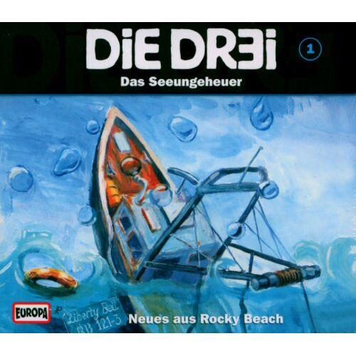 Die Dr3i - Die Dr3i, 1: Das Seeungeheuer - Preis vom 13.06.2021 04:45:58 h