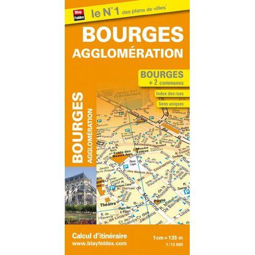 Blay-Foldex - Plan de Bourges et de son agglomération - Preis vom 12.06.2021 04:48:00 h