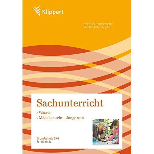 Susanne Altmeyer - Wasser   Mädchen sein, Junge sein: Grundschule 3-4. Schülerheft (3. und 4. Klasse) (Klippert Grundschule) - Preis vom 19.06.2021 04:48:54 h