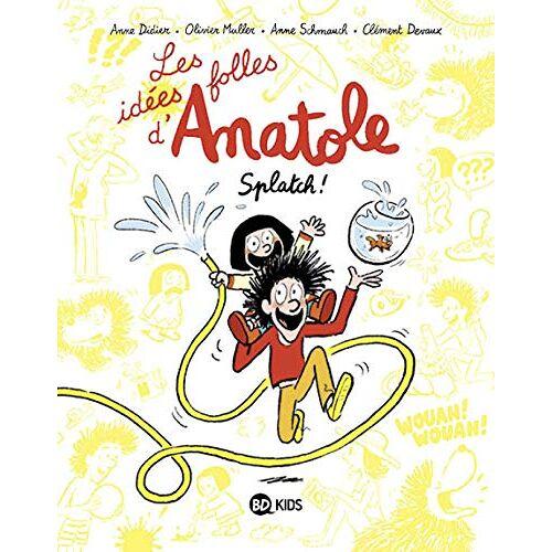 - Les idées folles d'Anatole, Tome 01: Les idées folles d'Anatole (Les idées folles d'Anatole, 1) - Preis vom 19.06.2021 04:48:54 h