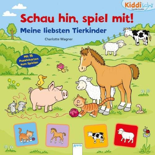 Sabine Thomas - Schau hin, spiel mit! Meine liebsten Tierkinder: Kiddilight - Preis vom 02.08.2021 04:48:42 h