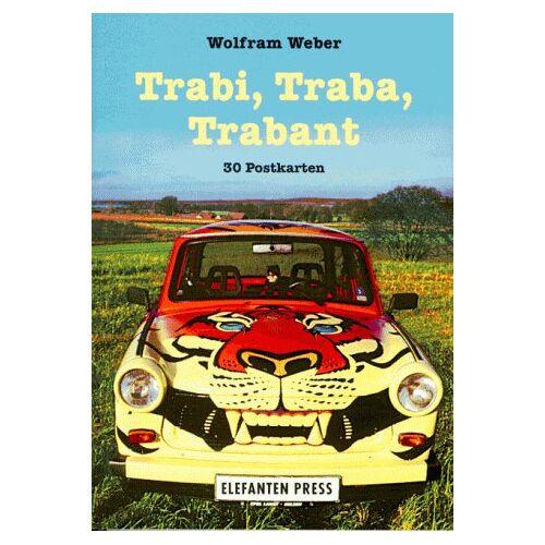 Wolfram Weber - Trabi, Traba, Trabant, 30 Postkarten - Preis vom 15.06.2021 04:47:52 h