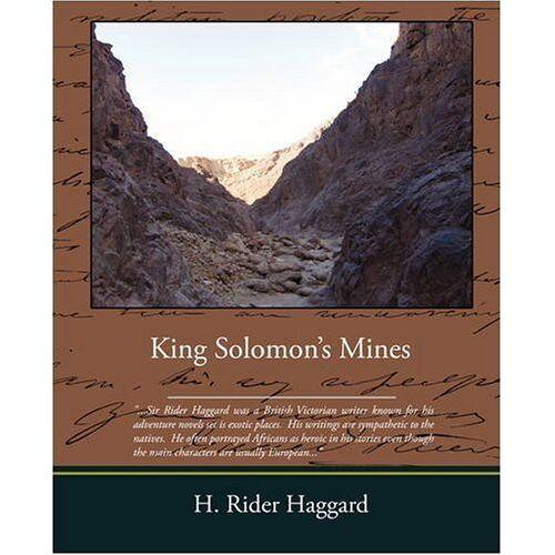 Haggard, H. Rider - King Solomons Mines - Preis vom 28.07.2021 04:47:08 h