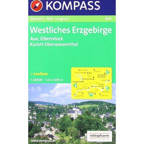 - Westliches Erzgebirge: Aue, Eibenstock, Kurort Oberwiesenthal. Wander- Bike- und Langlaufkarte. 1:50.000 - Preis vom 22.06.2021 04:48:15 h