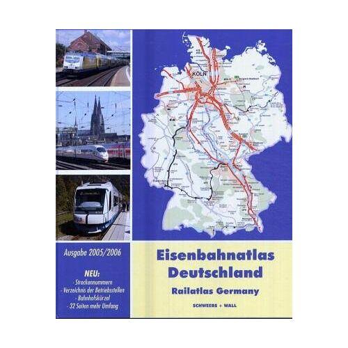 Eisenbahnatlas - Eisenbahnatlas Deutschland 2005/2006 - Preis vom 13.09.2021 05:00:26 h