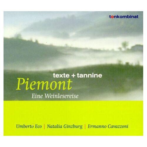 Umberto Eco - Piemont. Eine Weinlesereise. CD. . Texte und Tannine - Preis vom 15.06.2021 04:47:52 h