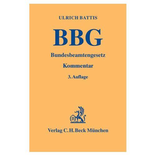 Ulrich Battis - Bundesbeamtengesetz - Preis vom 19.06.2021 04:48:54 h
