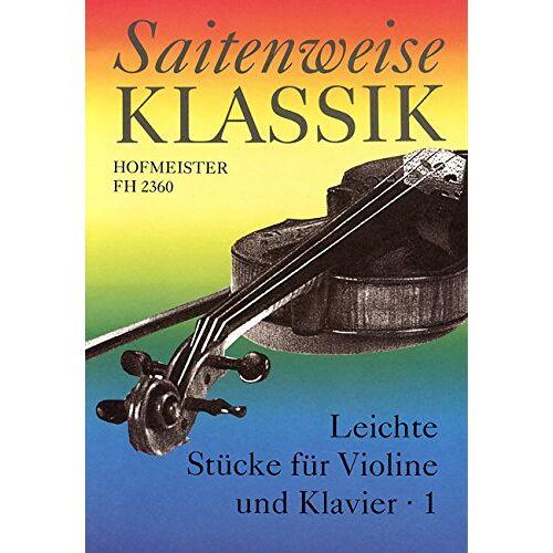 - Saitenweise Klassik, Band 1 - Violine und Klavier - Buch - Preis vom 19.06.2021 04:48:54 h
