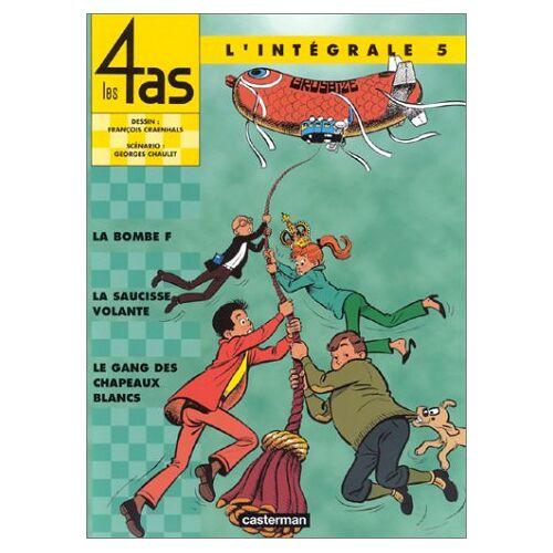 Georges Chaulet - Les 4 as L'intégrale, Tome 5 : (Intégrales) - Preis vom 12.09.2021 04:56:52 h