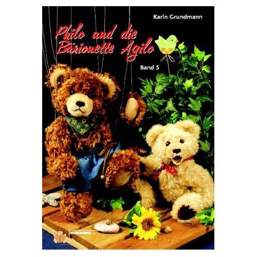 Karin Grundmann - Philo & die Bärionette Agilo (Schnittmusterbuch) - Preis vom 22.06.2021 04:48:15 h