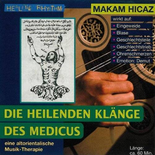 - Musik-Therapien - Die heilenden Klänge des Medicus - Paket. Rast /Hicaz /Nihavent /Hüseyni: Musik-Therapien - Die heilenden Klänge des Medicus - ... Musik- Therapie. Healing Rhythm: Tl 2: TEIL 2 - Preis vom 22.09.2021 05:02:28 h