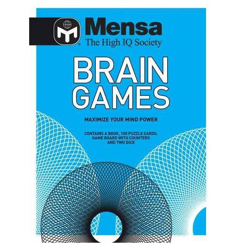 Mensa - Mensa Brain Games Pack: Over 100 Mindbending Games and Puzzles - Preis vom 23.09.2021 04:56:55 h
