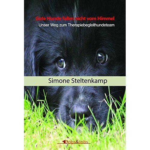 Simone Steltenkamp - Gute Hunde fallen nicht vom Himmel: Unser Weg zum Therapiebegleithundeteam - Preis vom 15.10.2021 04:56:39 h
