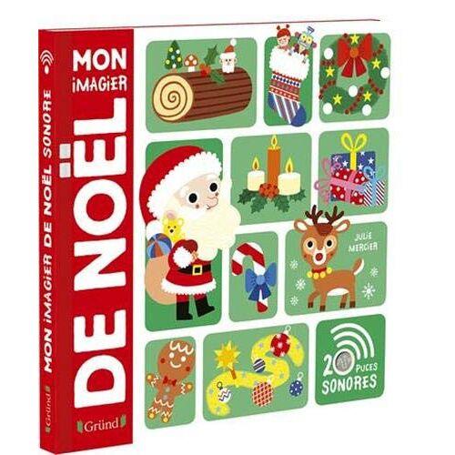 - Mon imagier de Noël - Imagier avec 20 puces sonores - À partir de 3 ans - Preis vom 19.06.2021 04:48:54 h