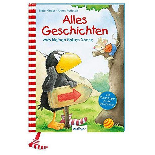 Nele Moost - Der kleine Rabe Socke: Alles Geschichten vom kleinen Raben Socke - Preis vom 09.06.2021 04:47:15 h
