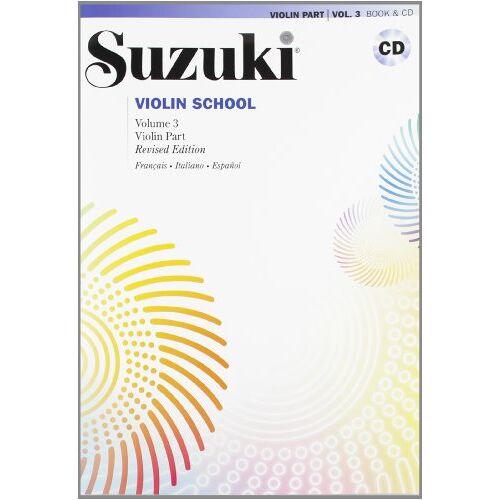 Suzuki - Suzuki Violin School Vol. 3 - Preis vom 17.06.2021 04:48:08 h