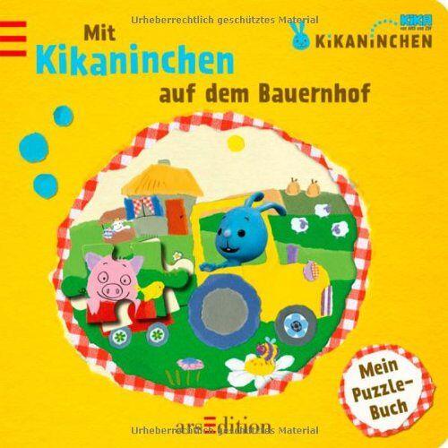 kein Autor - Kikaninchen - Mit Kikaninchen auf dem Bauernhof: Mein Puzzle-Buch - Preis vom 09.06.2021 04:47:15 h