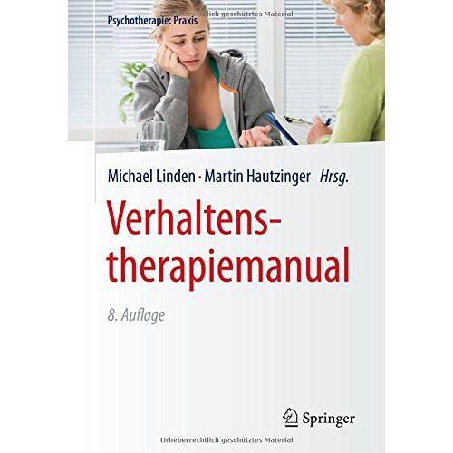 Michael Linden - Verhaltenstherapiemanual (Psychotherapie: Praxis) - Preis vom 15.10.2021 04:56:39 h