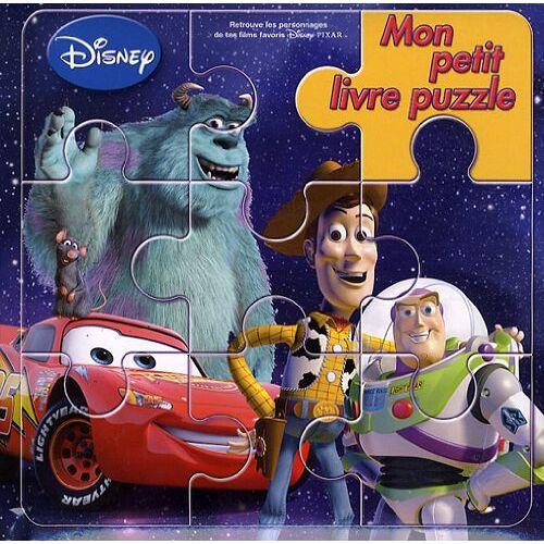 Disney - Mon petit livre puzzle Disney Pixar - Preis vom 31.07.2021 04:48:47 h